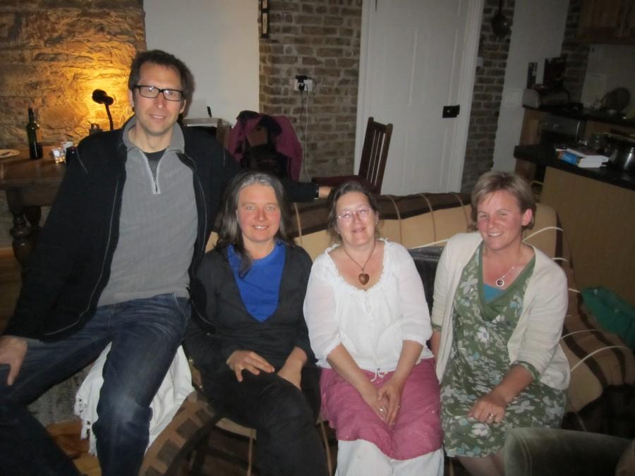 Klaus, Hilda, Jeannie, and Liz of Transition Kinsale